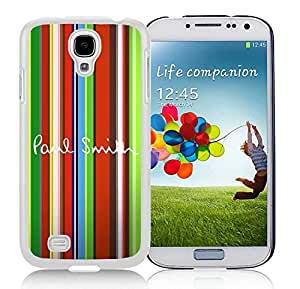 Popular Designed Phone Case For Samsung Galaxy S4 I9500 i337 M919 i545 r970 l720 With Paul Smith 5 White Phone Case