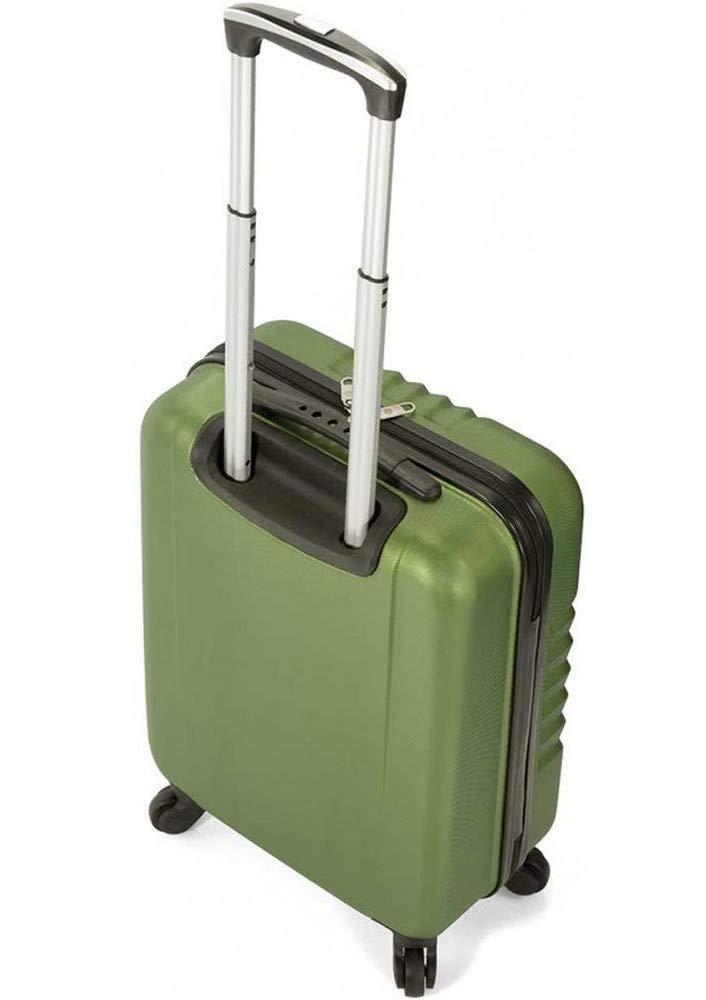 Maleta de cabina 55x40x20cm. Equipaje de mano para avión. Trolley de viaje ABS con 4 ruedas con giro 360º y cierre TSA. Vuelos Ryanair, Iberia. ...