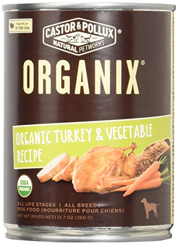 Castor Pollux Organix Vegetables Food product image