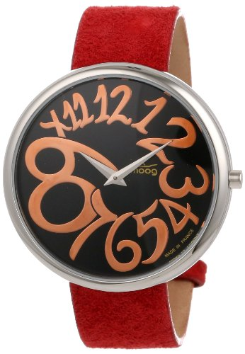 Moog Paris Women's XWA3669-PE-011  Analog Rose-Tone Hands Watch