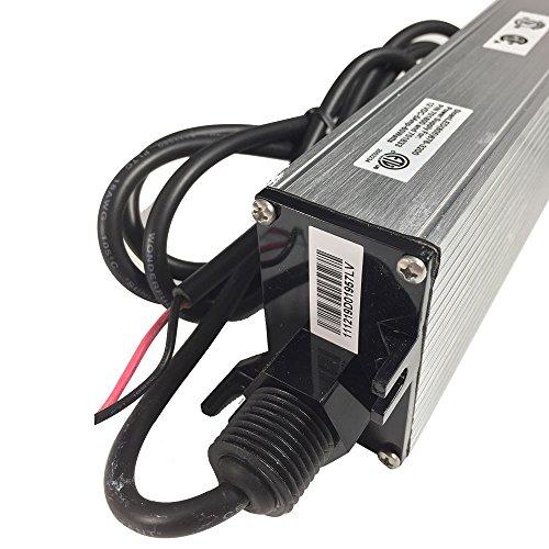 Blaze 12v Wet Location Led Strip: UL Listed Waterproof IP68 LED Power Supply 12 Volt 60W DC