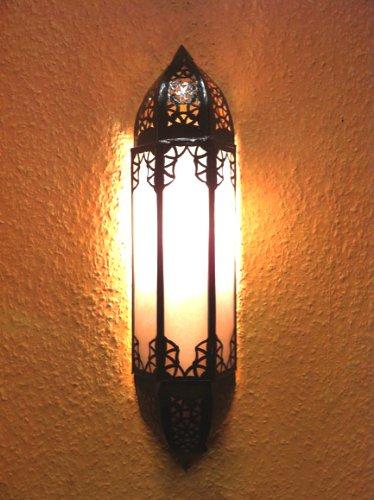 Moroccan wall lamp doha white amazon lighting moroccan wall lamp doha white aloadofball Choice Image