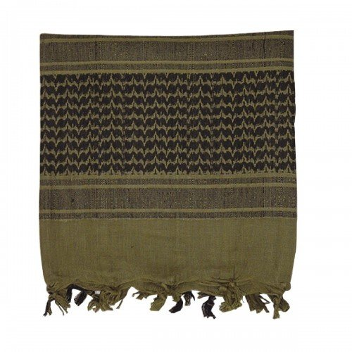 VooDoo Tactical 08-3065009000 Woven Coalition Desert Scarves, Green/Black by VooDoo Tactical