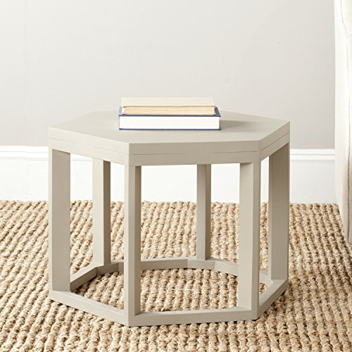Rug Octagon Elegance (Safavieh American Homes Collection Heidi Pearl Taupe End Table)