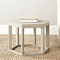 Safavieh American Homes Collection Heidi Pearl Taupe End Table