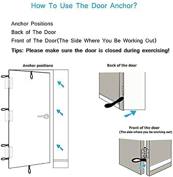 Ripcords Advanced Door Anchor - Anclaje de Puerta para Cintas de Entrenamiento