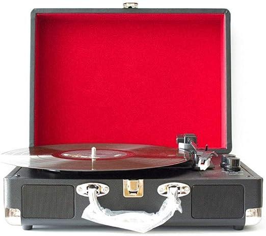 Altavoces Bluetooth Vintage Tocadiscos multifuncionales Tocadiscos ...