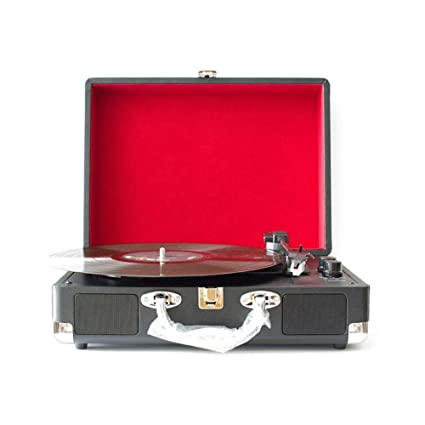 Tocadiscos Retro Radio Vintage Giradiscos portátil Vinilo de época ...