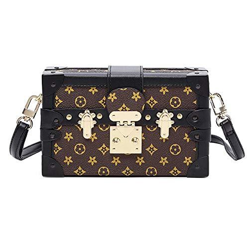 - Sinianer Retro Crossbody Bag Purse for Women Fashion Shuldder Bag Ladies Box Bag (gray)