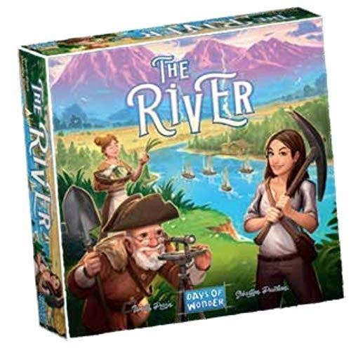 Days of Wonder DO8701 The River Games, Multicolor