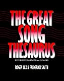 img - for The Great Song Thesaurus by Roger Lax (1989-02-09) book / textbook / text book