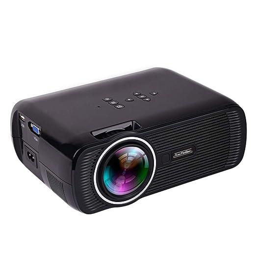 ZCCZ-AA Inicio X7 proyector portátil HD pequeño Led Mini proyector ...