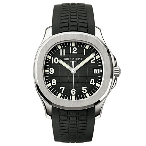 Patek Philippe Aquanaut Automatic Black Dial Stainless Steel Men's Watch 5167A-001