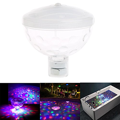 Floating Disco Underwater Led Light Show - 5