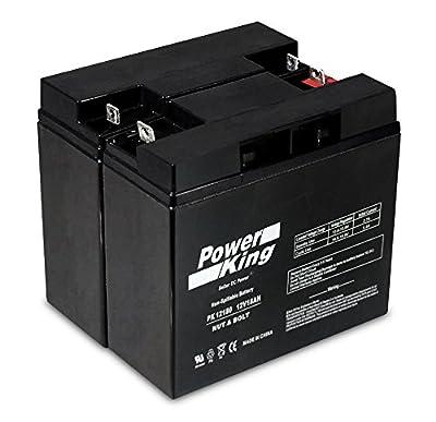 APC RBC7 Smart-UPS SMT SMT1500 UPS 12V 18Ah Battery Real 18 Amp Gel Deep Cycle AGM/SLA Designed for UPS-12180- Nut & Bolt L1-2 Pack Beiter DC Power