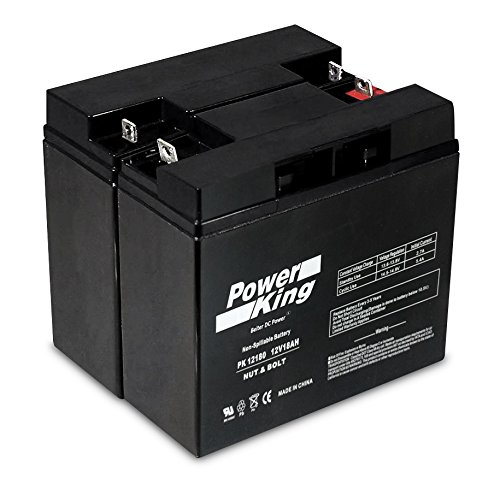 APC Smart-UPS 1500 Replacement Battery - Must Reuse Existing Connectors. RBC7 Kit of 2 Beiter DC Power