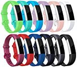 sunyfeel Newest Fitbit Ace/Alta HR Band Replacement, 12 colors Fashion Sports Silicone Personalized Replacement Bracelet with Metal Clasp for Fitbit Alta HR/Alta