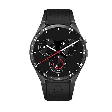 szdldt redondo reloj inteligente Android tarjeta SIM 3 G WIFI apoyo Android 5.1 Sistema muñeca reloj ritmo cardíaco monitor App ...