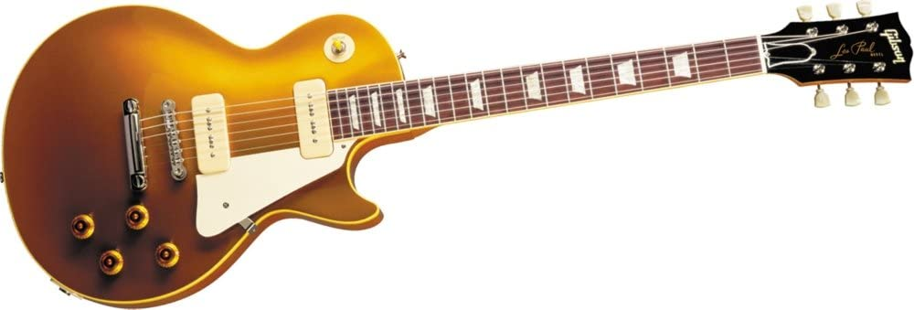 Gibson Custom 1956 Les Paul Goldtop Reissue Electric Guitar Antique Gold