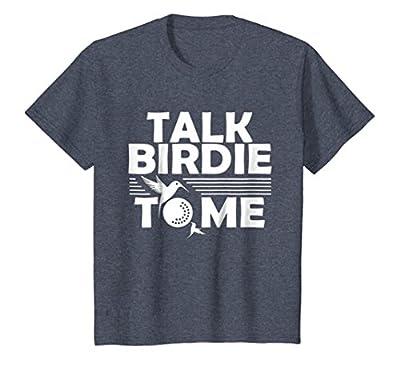 Funny Golf T-Shirt | Talk Birdie To Me | Golfer Gifts