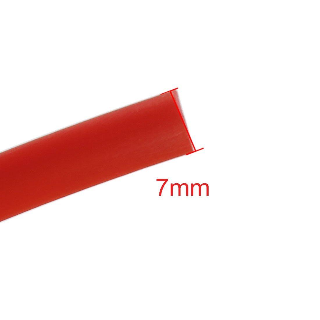 Amazon.com: eDealMax 5M franja roja Flexible Para Interior del coche exterrior Moldeo de Gaza: Automotive
