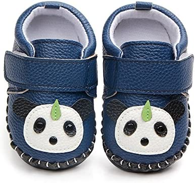 LIDIANO Baby Non Slip Rubber Sole Slip On Knitiing Slippers Crib Shoes Infant//Toddler 0-6 Months, Mouse