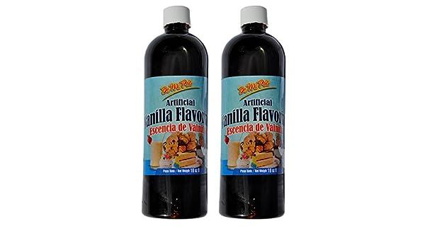 Esencia de Vainilla / Artificial Vanilla Flavoring 16 oz / 2 pack: Amazon.com: Grocery & Gourmet Food