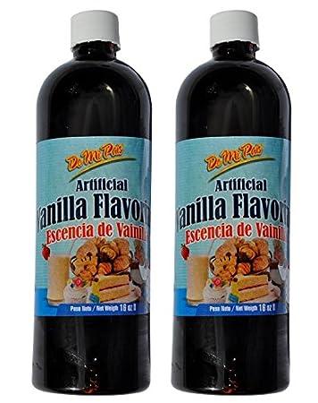 Esencia de Vainilla / Artificial Vanilla Flavoring 16 oz / 2 pack