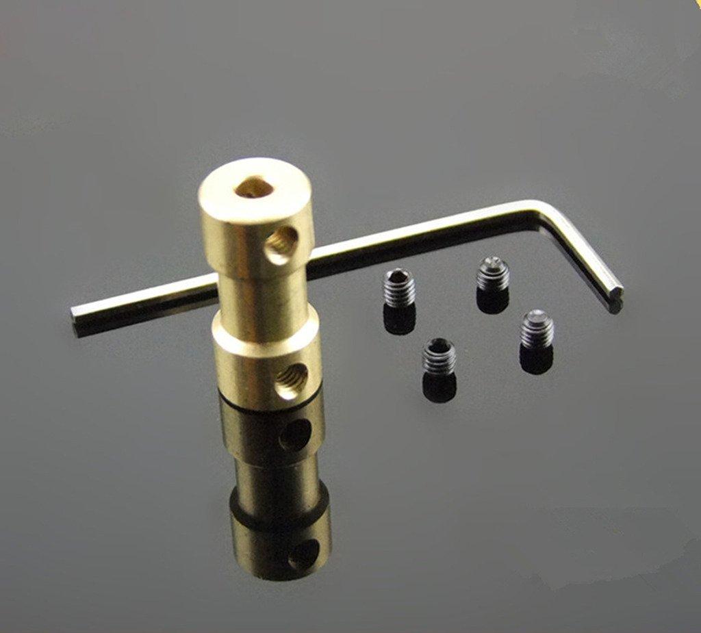 Winwill Manicotto del connettore del raccordo di accoppiamento dell'albero del motore di 6mm to 5mm H541