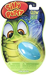 Crayola Silly Putty, Glow In The Dark (Color may Vary) 1 ea