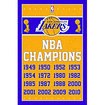 Trends International Los Angeles Lakers Champions Wall Poster 22.375