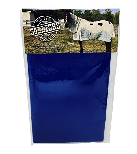 Colliers Rip It Patch It - Iron-on Horse Blanket Repair Patches - Medium Horse Rug Turnout
