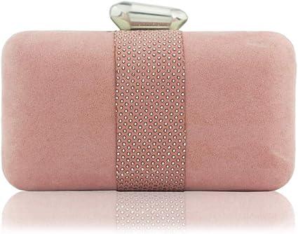Diamond Fashion Damen Glitzer Abendhandtaschen Geldb/örse Hochzeit Cocktail Box Handtasche