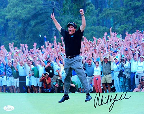 Phil Mickelson Autographed Signed 2004 Masters Win 11x14 Photo JSA - Certified Authentic