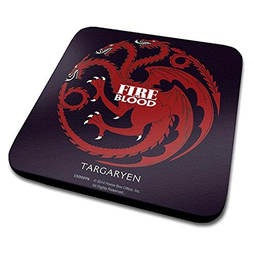 Game Of Thrones Targaryen Official Drinks Coaster Protective Melamine Cover