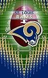 Turner NFL St. Louis RamsMemo Book, 3 Packs