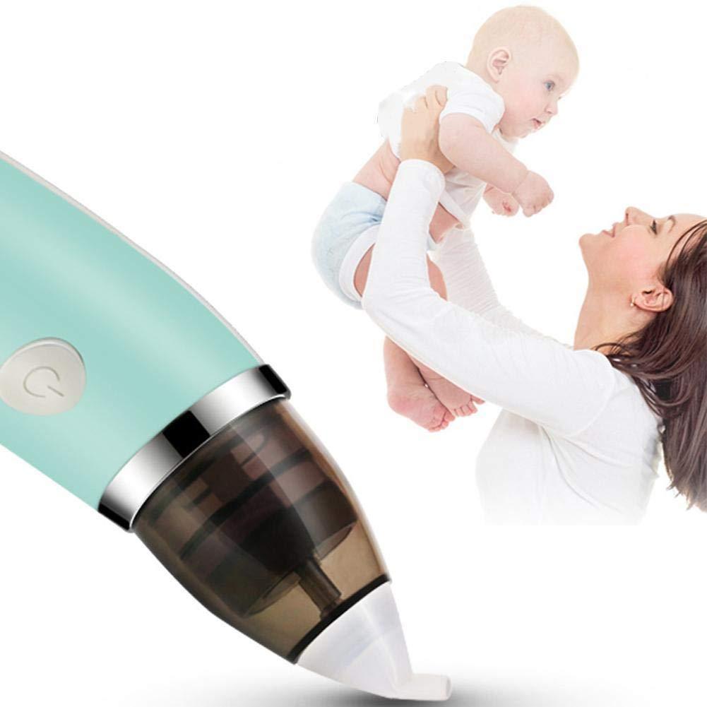 SL Newborn Baby Nasal Aspirator Electric Nose Cleaner Safe Hygienic Snot Sucker UK