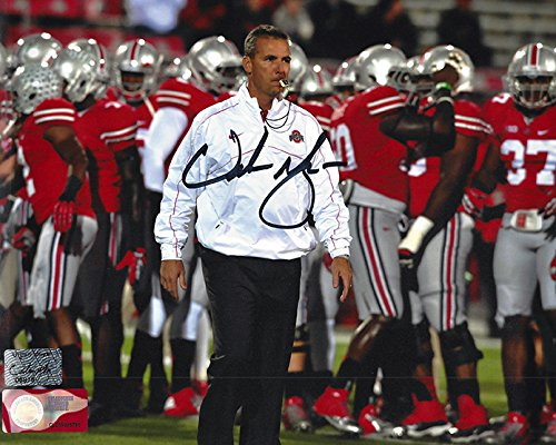 Urban Meyer Autographed Ohio State Buckeyes 8x10 Photograph Certified Authentic Autographed Photos