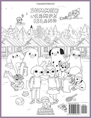 Summer Camp Island Coloring Book In Color Campamento De Verano