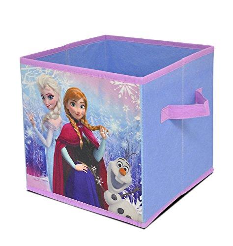 Disney Frozen Snowflake Trio Storage Cube Toy, 10