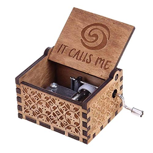 Music Boxes - Antique Carved Wooden Music Box Hand Crank Birthday Year Gift Children Gifts Home Decoration - Lauras Dance Snow Matchbox Gothic Tinkerbell Mom Nutcracker Baby Hand -
