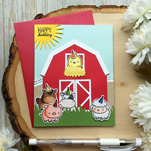 Handmade Birthday Card Farm Animals Happy For Children Kids Cards