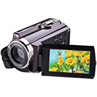 Mini DV, High Definition Digital Video, Camcorder DVR 3 TFT LCD 16x Zoom Hd Video Recorder Camera 1080P Digital Video Camcorder With Night Vision, HDMI And Touchscreen (C)