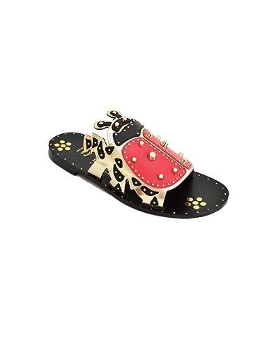 Ivy Kirzhner Electro Ladybug Slide Sandals official cheap price online cheap price cheap sale cheap eeB0mv9euD