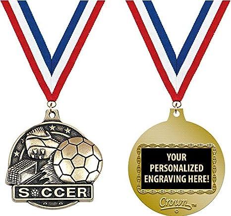 Amazon com : Soccer Medals, 2