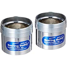 "Bearing Buddy 42440 Chrome Bearing Protector - 2.441"" Diameter, Pair"