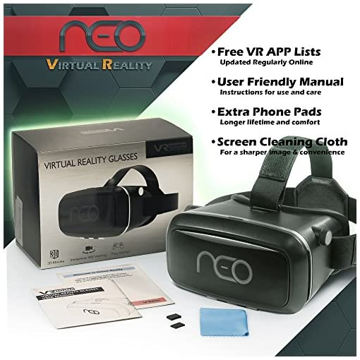 3d Virtual Reality Headset For Mobile Phones Vr Glasses For Iphone
