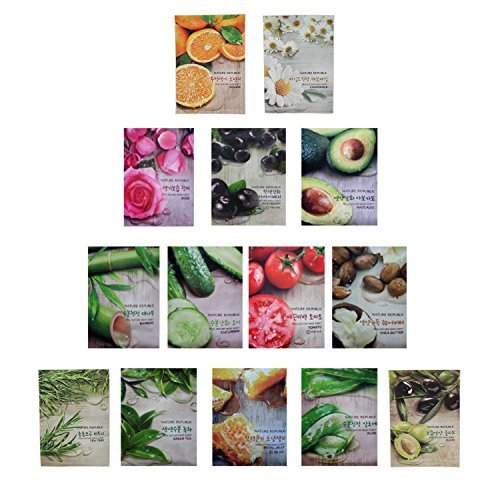Nature Republic Real Nature Mask Sheet 10pcs Original Korean...
