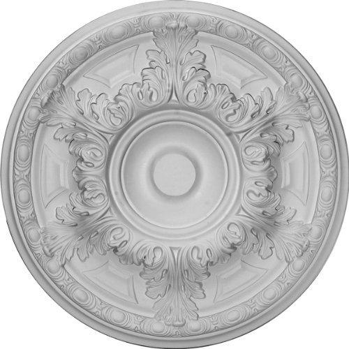 Ekena Millwork CM19GA 19-Inch OD x 6-Inch ID x 1 1/2-Inch P Granada Ceiling Medallion by Ekena Millwork