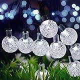 Binval Solar Christmas String Lights for Outdoor
